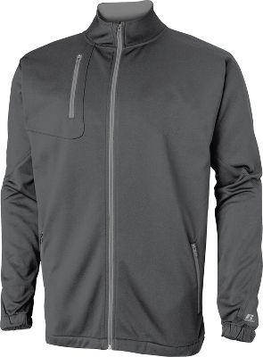 Russell Athletic Mens Technical Performance Fleece Full Zip Jacket