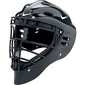 Nike Adult Black Pro Gold Catcher's Helmet