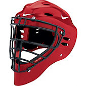 Nike Adult Red Pro Gold Catcher's Helmet