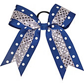 Powerbows Original Polka Dot Pattern Bow w/ Sequins