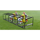 Fisher Three Man Football Chute