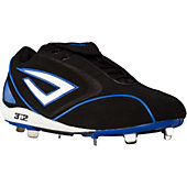 3N2 Men's Pyro Low Metal Baseball Cleats