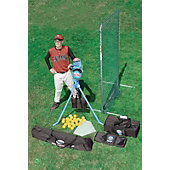Jugs Lite Flite Baseball Machine Package