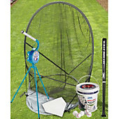 Jugs Sports Small Ball Pitching Machine Practice Package