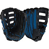 "DeMarini Rogue 14"" Blue Softball Glove"