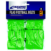 Champro FLAG FB VELCRO FLAGS/BELTS 6PK