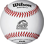 Wilson Competition Grade Pony Baseball (Dozen)