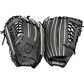 Wilson Onyx Grey FP 12.75IN Laced Post Web
