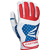 Easton Adult Stars and Stripes Batting Gloves