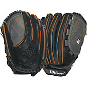 "Wilson Onyx Series 12.5"" Neon Orange Fastpitch Glove"