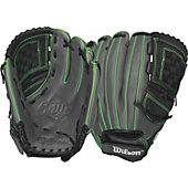 "Wilson Onyx Series 12"" Neon Green Fastpitch Glove"