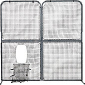 Easton Four-Panel Collapsible Screen