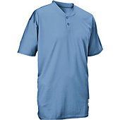 Easton Adult 2 Button Placket Baseball Jersey