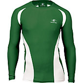 Easton Adult Qualifier Dark Green Compression Shirt
