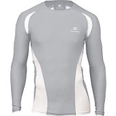 Easton Adult Qualifier Grey Compression Shirt