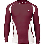 Easton Adult Qualifier Maroon Compression Shirt