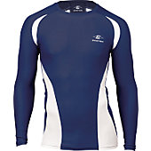 Easton Adult Qualifier Navy Compression Shirt