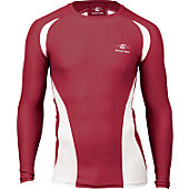 Easton Youth Qualifier Cardinal Compression Shirt