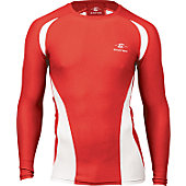 Easton Youth Qualifier Red Compression Shirt