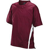Easton Enforcer Maroon Short Sleeve Batting Jacket