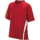 Easton Enforcer Red Short Sleeve Batting Jacket