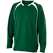Easton Escape Long Sleeve Dk Green Batting Jacket