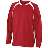 Easton Adult Escape Long Sleeve Batting Jacket (Red)