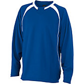 Easton Escape Long Sleeve Royal Batting Jacket