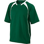 Easton Adult Escape Short Sleeve Batting Jacket (Dark Green)
