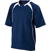 Easton Escape Short Sleeve Navy Batting Jacket