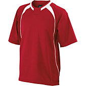 Easton Escape Short Sleeve Red Batting Jacket