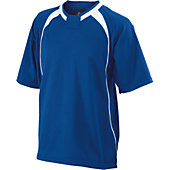 Easton Adult Escape Short Sleeve Batting Jacket (Royal)