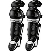 Easton Jr. Youth Black Magic Catcher's Leg Guards