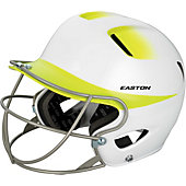 Easton Natural 2-Tone Junior Batting Helmet w/ Softball Mask