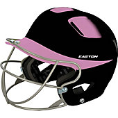 Easton Natural 2-Tone Senior Batting Helmet w/ Softball Mask