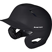 Easton Senior Stealth Grip Black Batting Helmet