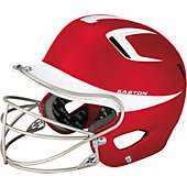 Easton Natural Grip Two Tone Junior Batting Helmet w/ Mask