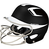 Easton Natural Grip Two Tone Senior Batting Helmet w/ Mask