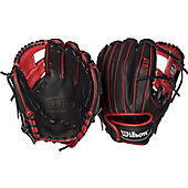 "Wilson A1K Series Red DP15 11.5"" Baseball Glove"