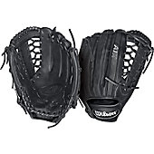 Wilson A1K OF1225 Black/Metallic Glove 12.25IN