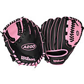 "Wilson A200 Girl's 10"" Tee Ball Glove"
