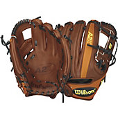 "Wilson 2015 A2K Dustin Pedroia Game Model 11.5"" Baseball Glo"