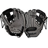 "Wilson A2000 Exclusive Gray/Black DP15 11.5"" Baseball Glove"