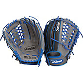 "Wilson A2000 Exclusive Gray/Royal JH32 SuperSkin 12.5"" Baseball Glove"