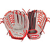 "Wilson A2000 Exclusive Gray/Red JH32 SuperSkin 12.5"" Basebal"