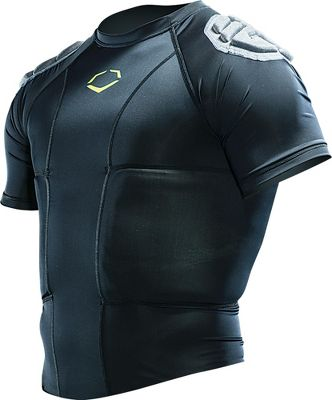 EvoShield Youth HybridPro Rib Protector Shirt A311YBLKM
