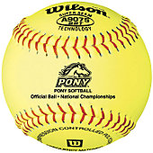 "Wilson 12"" Pony League Fastpitch Softball (Dozen)"