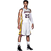 Adidas Men's Custom Lakers Basketball Shorts