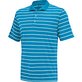 Adidas Men's Climalite 2 Color Stripe Polo