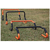 Trigon Multi-Height Hurdles-Set of 4